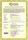 Certificate TKDN FRP composite wrapping